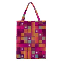 Abstract Background Colorful Classic Tote Bag