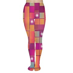 Abstract Background Colorful Women s Tights