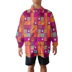 Abstract Background Colorful Wind Breaker (Kids)