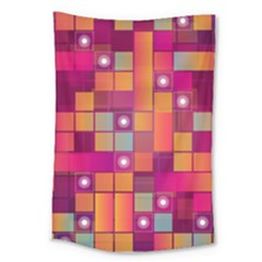 Abstract Background Colorful Large Tapestry