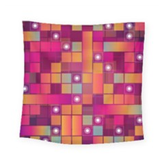Abstract Background Colorful Square Tapestry (small)