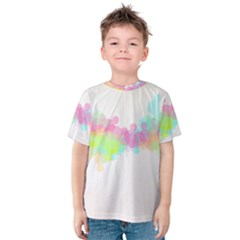 Abstract Color Pattern Colorful Kids  Cotton Tee