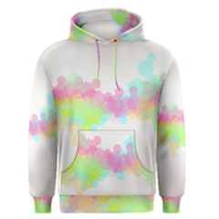 Abstract Color Pattern Colorful Men s Pullover Hoodie