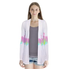 Abstract Color Pattern Colorful Cardigans