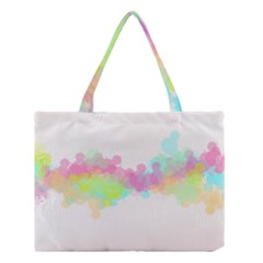 Abstract Color Pattern Colorful Medium Tote Bag