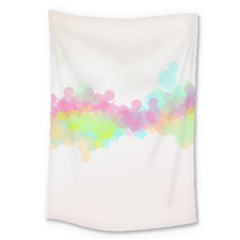 Abstract Color Pattern Colorful Large Tapestry