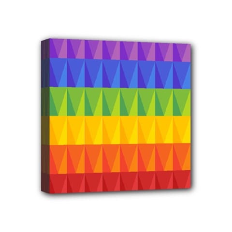 Abstract Pattern Background Mini Canvas 4  x 4