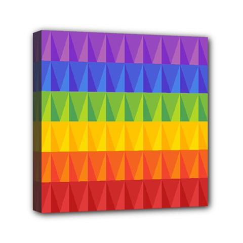 Abstract Pattern Background Mini Canvas 6  x 6