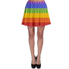 Abstract Pattern Background Skater Skirt