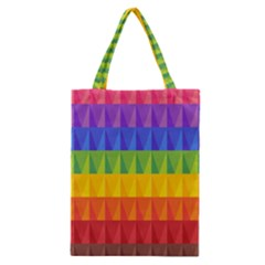 Abstract Pattern Background Classic Tote Bag