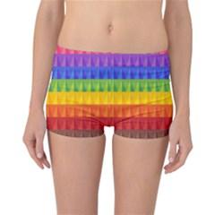 Abstract Pattern Background Reversible Bikini Bottoms