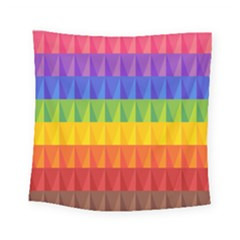 Abstract Pattern Background Square Tapestry (small)