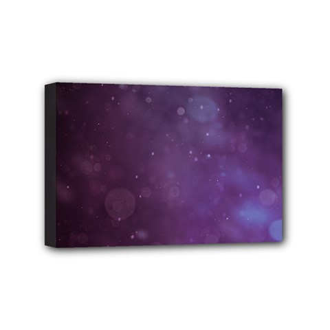 Abstract Purple Pattern Background Mini Canvas 6  X 4