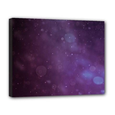 Abstract Purple Pattern Background Canvas 14  x 11
