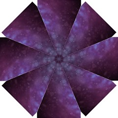 Abstract Purple Pattern Background Straight Umbrellas