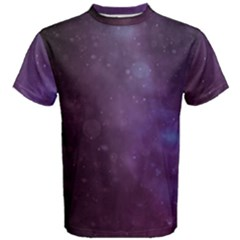 Abstract Purple Pattern Background Men s Cotton Tee