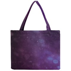 Abstract Purple Pattern Background Mini Tote Bag