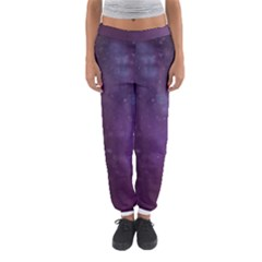 Abstract Purple Pattern Background Women s Jogger Sweatpants