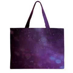 Abstract Purple Pattern Background Large Tote Bag