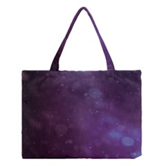 Abstract Purple Pattern Background Medium Tote Bag