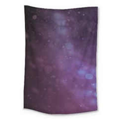 Abstract Purple Pattern Background Large Tapestry