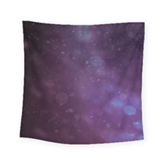 Abstract Purple Pattern Background Square Tapestry (Small)