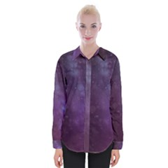 Abstract Purple Pattern Background Shirts
