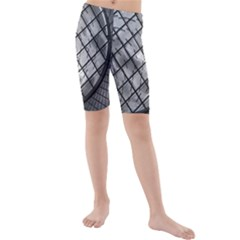 Architecture Roof Structure Modern Kids  Mid Length Swim Shorts
