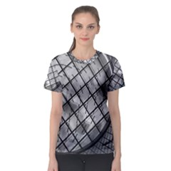 Architecture Roof Structure Modern Women s Sport Mesh Tee