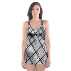 Architecture Roof Structure Modern Skater Dress Swimsuit