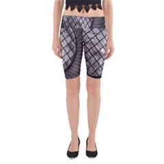 Architecture Roof Structure Modern Yoga Cropped Leggings