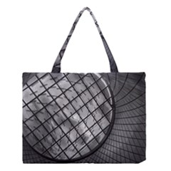 Architecture Roof Structure Modern Medium Tote Bag