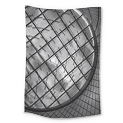 Architecture Roof Structure Modern Large Tapestry