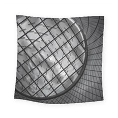Architecture Roof Structure Modern Square Tapestry (small)