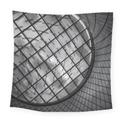 Architecture Roof Structure Modern Square Tapestry (Large)