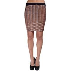 Armchair Folder Canework Braiding Bodycon Skirt