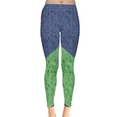 Arrow Texture Background Pattern Leggings