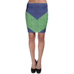 Arrow Texture Background Pattern Bodycon Skirt