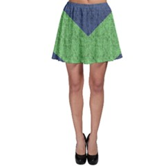 Arrow Texture Background Pattern Skater Skirt