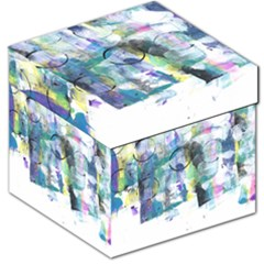 Background Color Circle Pattern Storage Stool 12