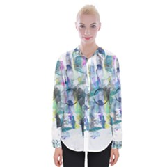 Background Color Circle Pattern Shirts