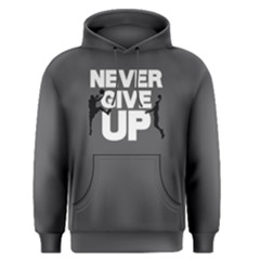 Never Give Up   Men s Pullover Hoodie