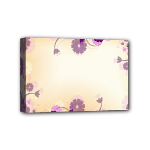 Background Floral Background Mini Canvas 6  X 4