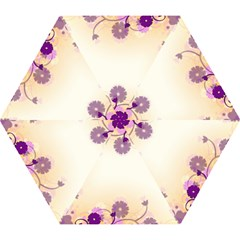 Background Floral Background Mini Folding Umbrellas