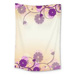 Background Floral Background Large Tapestry