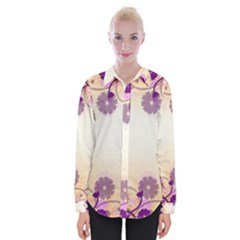 Background Floral Background Shirts