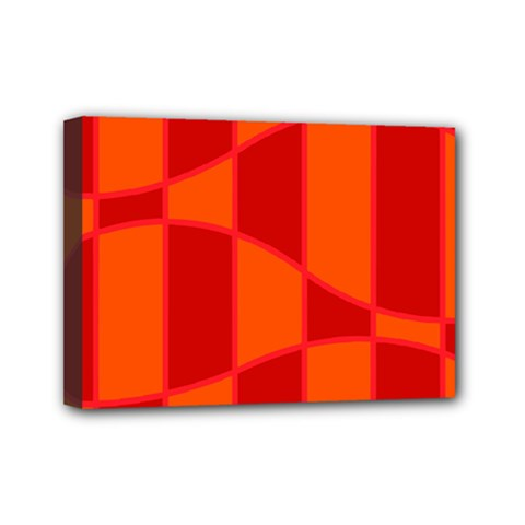Background Texture Pattern Colorful Mini Canvas 7  x 5
