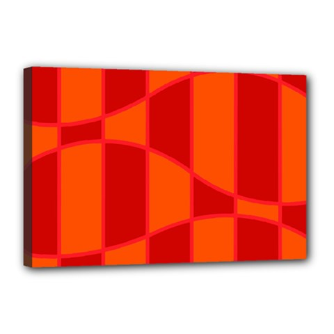Background Texture Pattern Colorful Canvas 18  x 12