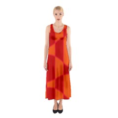 Background Texture Pattern Colorful Sleeveless Maxi Dress