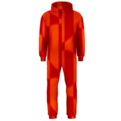 Background Texture Pattern Colorful Hooded Jumpsuit (Men)